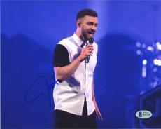 Justin Timberlake Live Autographed Signed 8x10 Photo Certified Authentic BAS COA