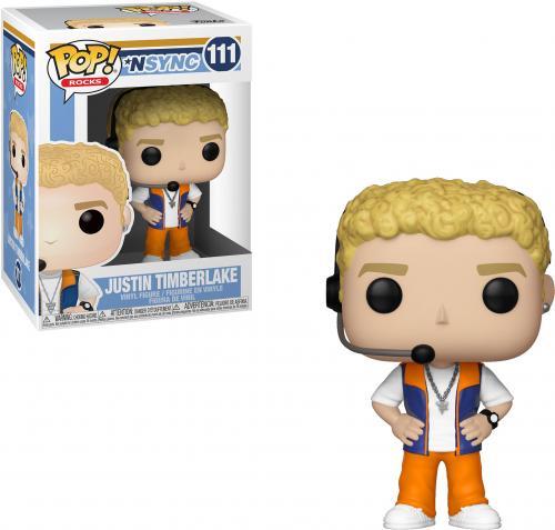 Justin Timberlake NSYNC #111 Funko Music Pop!