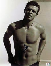 Justin Timberlake Signed Autographed 11X14 Photo Vintage Sexy Shirt Off 796582