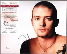 Justin Timberlake Signed Autographed Auto 8x10 Photo Jsa Witnessed #wp154719