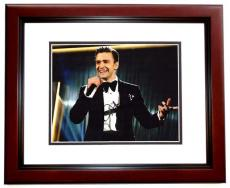 Justin Timberlake Signed - Autographed Concert - Actor 11x14 Photo MAHOGANY CUSTOM FRAME - NSYNC Lead Singer