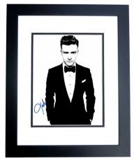 Justin Timberlake Signed - Autographed Singer - Actor 11x14 inch Photo BLACK CUSTOM FRAME - Guaranteed to pass PSA or JSA - NSYNC Lead Singer