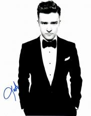 Justin Timberlake Signed - Autographed Singer - Actor 11x14 inch Photo - Guaranteed to pass PSA or JSA - NSYNC Lead Singer