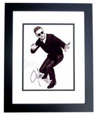Justin Timberlake Signed - Autographed Singer - Actor 8x10 inch Photo - Guaranteed to pass PSA/DNA or JSA - NSYNC - BLACK CUSTOM FRAME