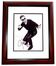 Justin Timberlake Signed - Autographed Singer - Actor 8x10 inch Photo - Guaranteed to pass PSA/DNA or JSA - NSYNC - MAHOGANY CUSTOM FRAME