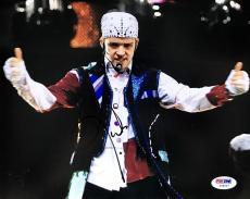 """Justin Timberlake Signed """" NSYNC  """"  8x10 Photo PSA/DNA"""