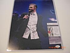 Justin Timberlake Singer,actor,entertainer Jsa/coa Signed 11x14 Photo