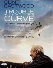 Justin Timberlake Trouble With The Curve Signed 11X14 Photo PSA/DNA #T22391