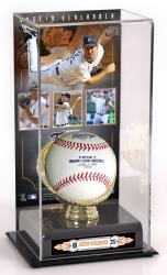 Justin Verlander Detroit Tigers Gold Glove Baseball Display Case - Mounted Memories