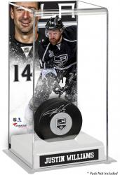 Justin Williams Los Angeles Kings Deluxe Tall Hockey Puck Case