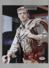 K) Pop Century LEE MAJORS Autograph Signed 8x10 PSA/DNA Six Million Dollar Man