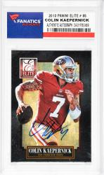 Colin Kaepernick San Francisco 49ers Autographed 2013 Panini Elite #85 Card  - Mounted Memories  - Mounted Memories
