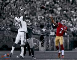 Colin Kaepernick San Francisco 49ers Autographed 11'' x 14'' Spotlight Photograph - Mounted Memories