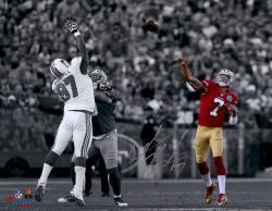 "Colin Kaepernick San Francisco 49ers Autographed 11"" x 14"" Spotlight Photograph"