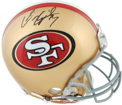 Riddell Colin Kaepernick San Francisco 49ers Autographed Pro Line Authentic Helmet - Mounted Memories