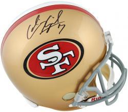 Riddell Colin Kaepernick San Francisco 49ers Autographed Replica Helmet