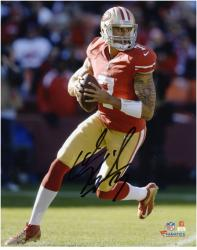 Colin Kaepernick San Francisco 49ers Autographed 8'' x 10'' Black Signature Photograph - Mounted Memories