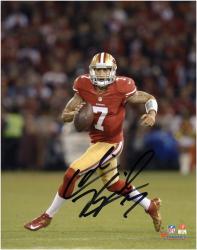 "Colin Kaepernick San Francisco 49ers Autographed 8"" x 10"" Action Photograph"