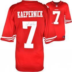 Colin Kaepernick San Francisco 49ers Autographed Nike Game Replica Jersey