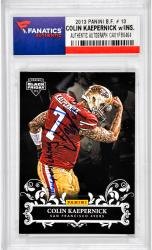 Colin Kaepernick San Francisco 49ers Autographed 2013 Panini B.F. #13 Card with Kaepernicking Inscription - Mounted Memories  - Mounted Memories