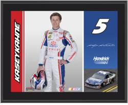 "Kasey Kahne Farmers Insurance 2012 Sublimated 10"" x 13"" Plaque - Mounted Memories"