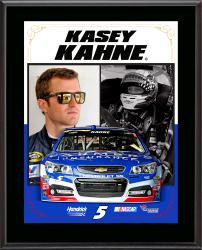 "Kasey Kahne Sublimated 10.5"" x 13"" Stylized Composite Plaque"