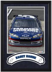 Kasey Kahne Framed Iconic 16'' x 20'' Photo with Banner - Mounted Memories