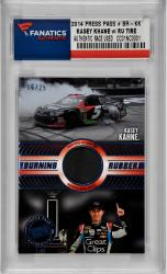 Kasey Kahne 2014 Press Pass #BR-KK Card Trading Card with Race-used Tire - Mounted Memories