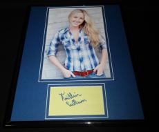 Kaitlin Cullum Signed Framed 11x14 Photo Display Galaxy Quest
