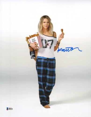 Kaitlin Olson Signed 11x14 Photo BAS Beckett COA The Mick 2017 Picture Autograph