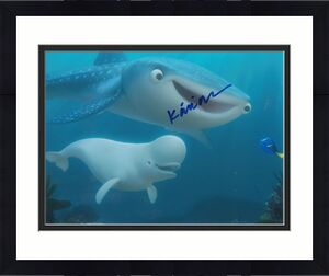 KAITLIN OLSON signed (FINDING DORY) Movie 8X10 *DESTINY* NEMO photo W/COA #3