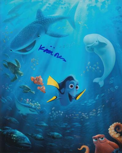 KAITLIN OLSON signed (FINDING DORY) Movie 8X10 *DESTINY* NEMO photo W/COA #5