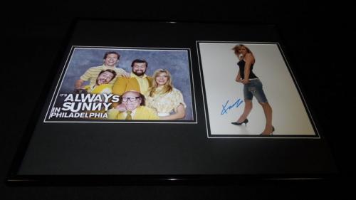 Kaitlin Olson Signed Framed 16x20 Photo Display It's Always Sunny in Philadelphi