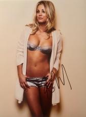 KALEY CUOCO (Big Bang Theory) authentic signed sexy 11x14 photo -FSC COA