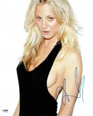 Kaley Cuoco Big Bang Theory Autographed Signed 11x14 Photo Certified PSA/DNA