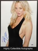 Kaley Cuoco Signed 11x14 Photo Autograph The Big Bang Theory Psa Dna Coa