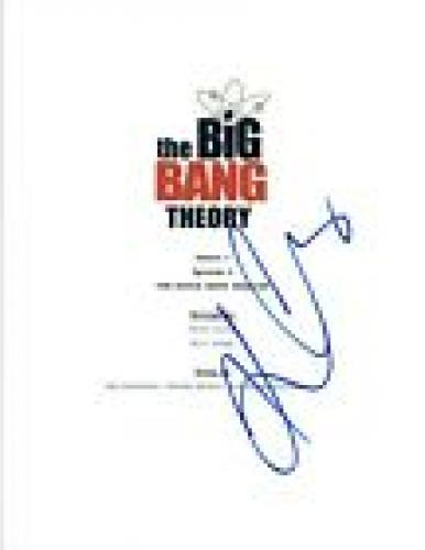 Kaley Cuoco Signed Autograph THE BIG BANG THEORY Middle Earth Paradigm Script VD