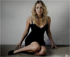 Kaley Cuoco Signed Autographed 16X20 Photo Big Bang Theory Sexy Heels GA776083