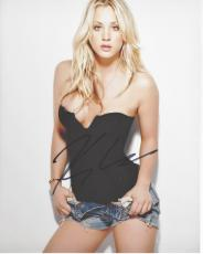 Kaley Cuoco Signed - Autographed Sexy Big Bang Theory Actress 8x10 inch Photo - Guaranteed to pass PSA or JSA