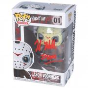 "Kane Hodder Friday the 13th Autographed Jason Vorhees #1 Funko Pop! with ""Jason"" Inscription - PSA"