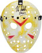 Kane Hodder Friday The 13th Autographed Replica Mask - BAS