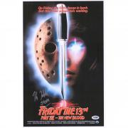 "Kane Hodder Friday the 13th: Part VII Autographed 12"" x 18"" Movie Poster with ""Jason"" Inscription - PSA"