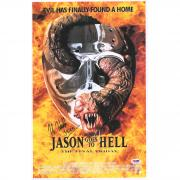 "Kane Hodder Jason Goes to Hell: The Final Friday Autographed 12"" x 18"" Movie Poster with ""Jason"" Inscription - PSA"