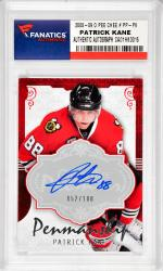 Patrick Kane Chicago Blackhawks Autographed 2008-09 O Pee Chee #PP-PK Card