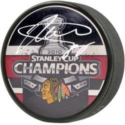 Chicago Blackhawks Patrick Kane 2010 Stanley Cup Champions Autographed Puck