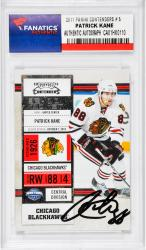 Patrick Kane Chicago Blackhawks Autographed 2011 Panini Contenders #5 Card