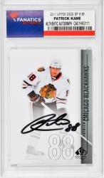 KANE, PATRICK AUTO (2011 UPPER DECK SP # 38) CARD - Mounted Memories