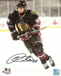 "Patrick Kane Chicago Blackhawks Autographed 8"" x 10"" Stadium Series Photograph"
