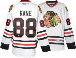 Patrick Kane Chicago Blackhawks Autographed Reebok Premier White Jersey