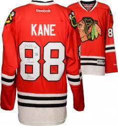 "Patrick Kane Autographed Blackhawks Jersey ""Multi"""